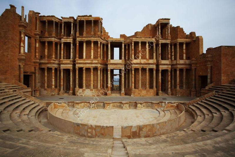 Sabrata Amphitheatre Libya
