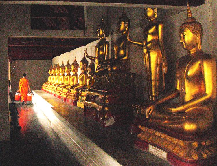 Thai Temple Monk