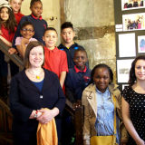 2013 Photo Club Exhibition Launch, with MP Meg Hillier at Sutton House