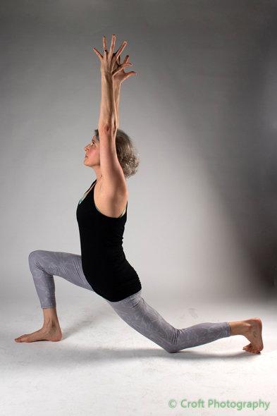 Claire yoga teacher