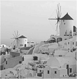 Oia Windmills, Santorini