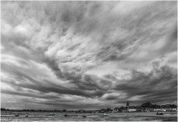 Swirling Clouds,  Bosham