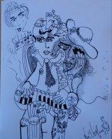 Pianist sketch.