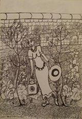 Tintern Abbey Walled Garden. August 2016.