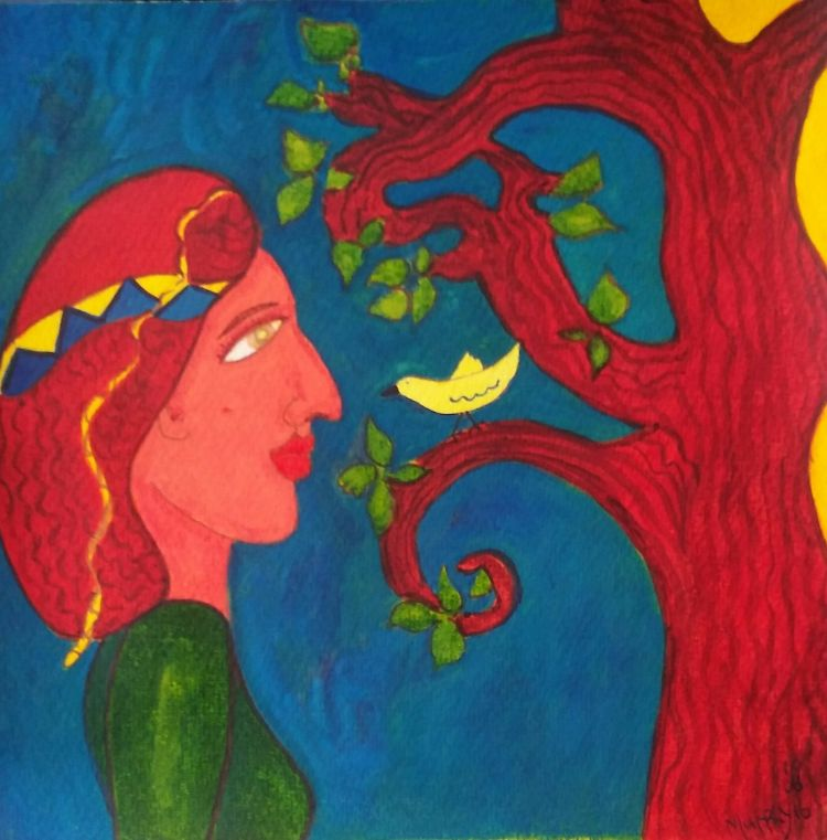 Lady and the Lemon bird