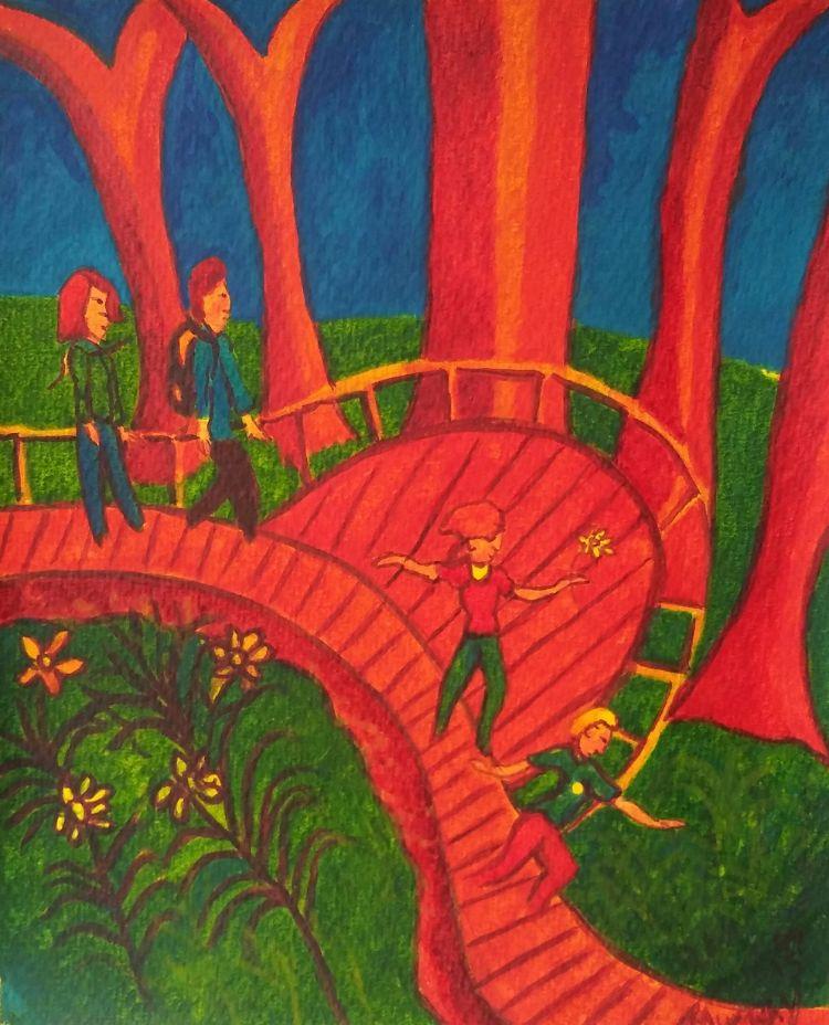 Lina&Lucas.Maren&Neill. Bicton grounds.Devon