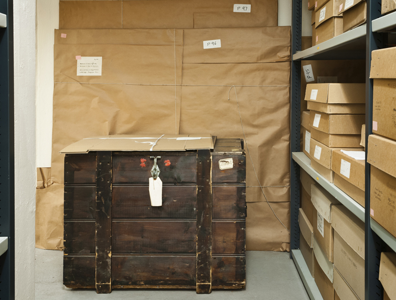 The Bristol Record Office, Chest and parcels
