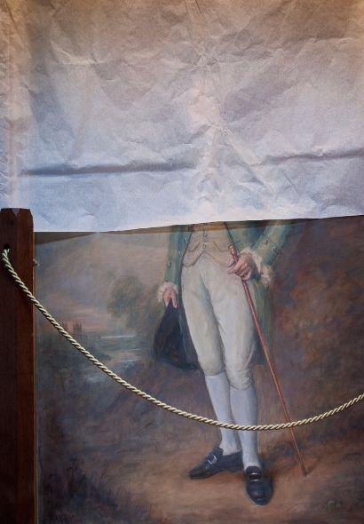 NT Tyntesfield, Covered Portrait