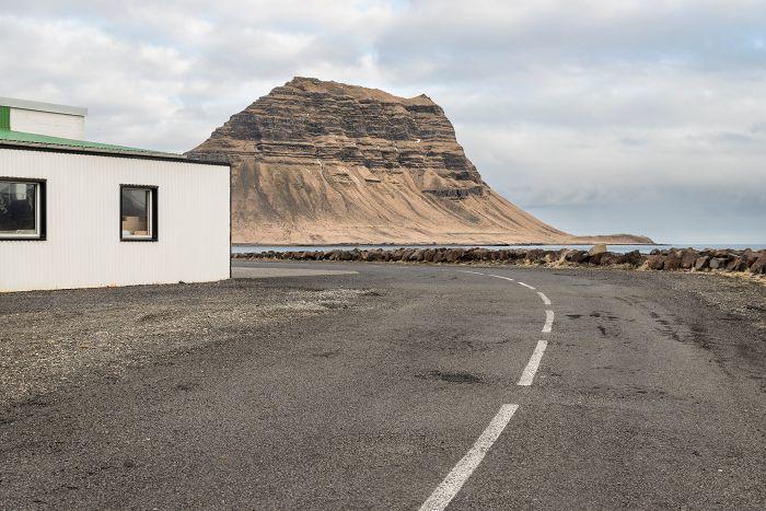 Grundafjordur road and mountain copy
