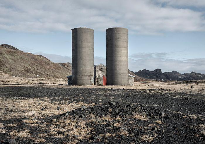 Kleifarvatn grain towers copy