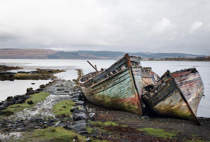 Three wrecks Mull