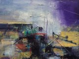 Stormy Harbour 29 x29