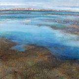 'Low tide across The Mersey'
