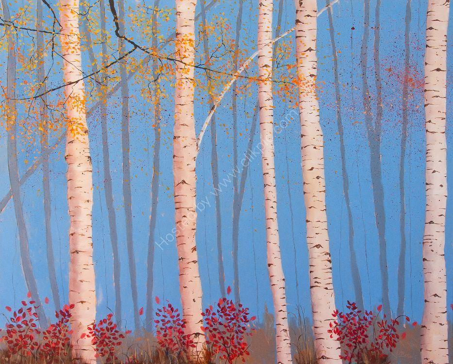 Five Birches
