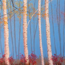 Five Birches