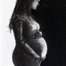 Christmas: Mary, Pregnant