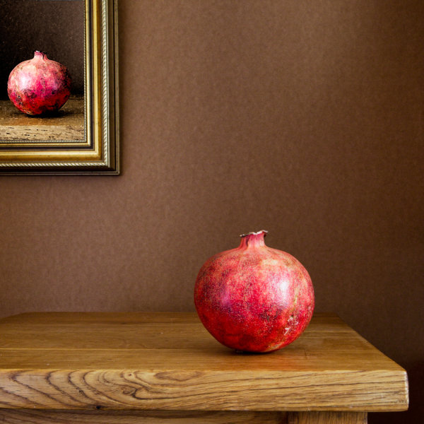 Pomegranate Portrait
