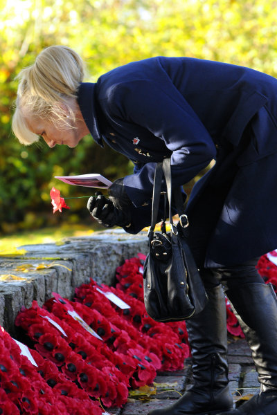Cumbernauld Remembrance Day