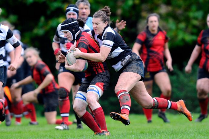 Stagettes RC v Kelso Ladies RC