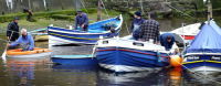 MEN IN BOATS, STAITHES BECK