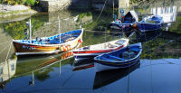 MORNING REFLECTED, STAITHES