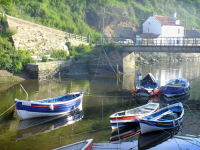 NORTH SIDE VIEW, STAITHES