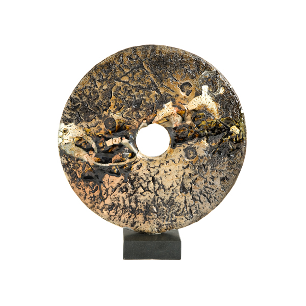Soda fired disc