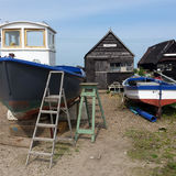 Boat Repairs at Southwold Harbour 1