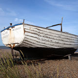 Fishing Boat on Dunwich Beach