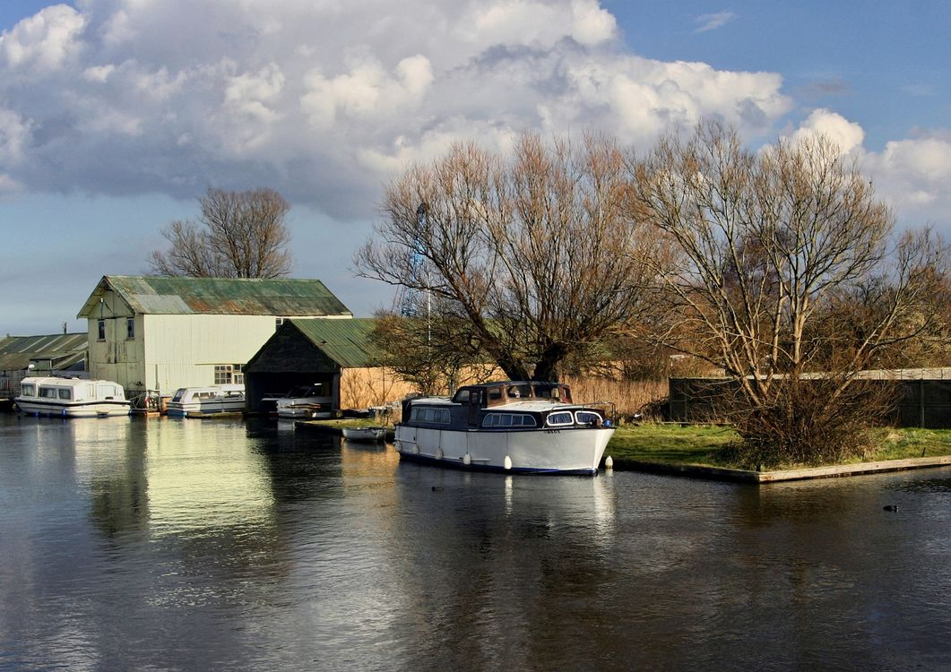 Moorings at Potter Heigham