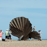 Sculpture by Maggi Hambling at  Aldeburgh
