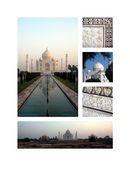(1) Taj Mahal South
