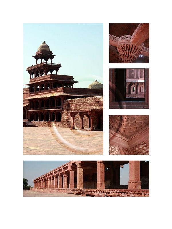 (3) Fatehpur Sikri (Deserted City) I