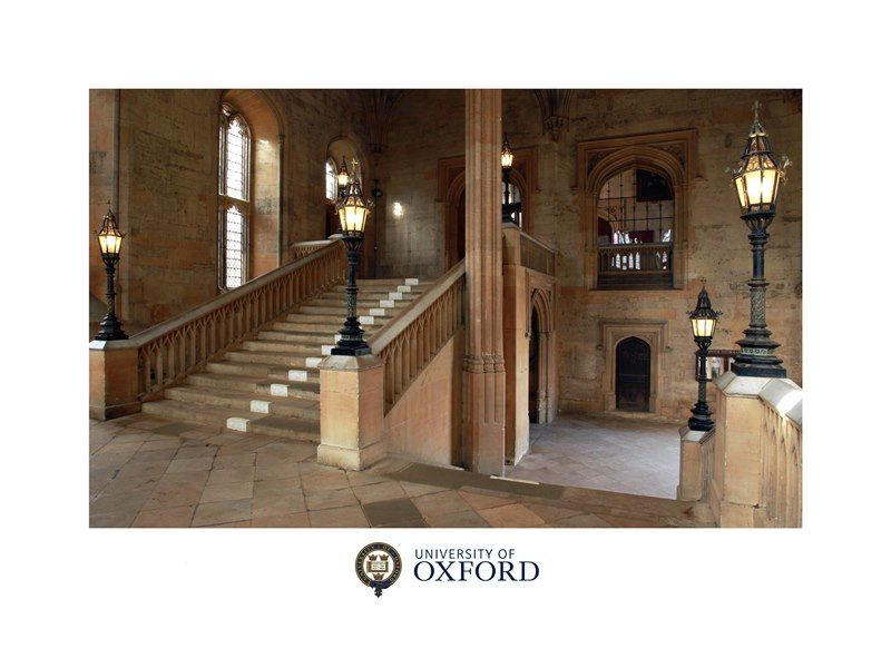 The Grand Staircase I, Christ Church