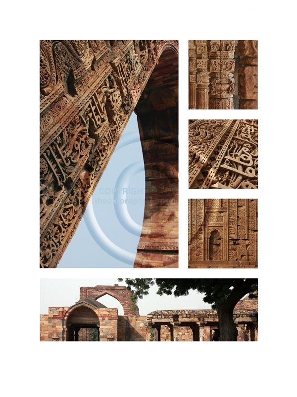 (8) Qutab Minar Ruins