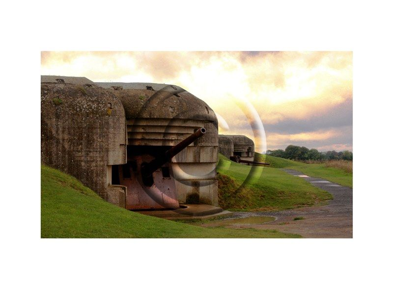FRA WWII German Battery Longues Sur Mere