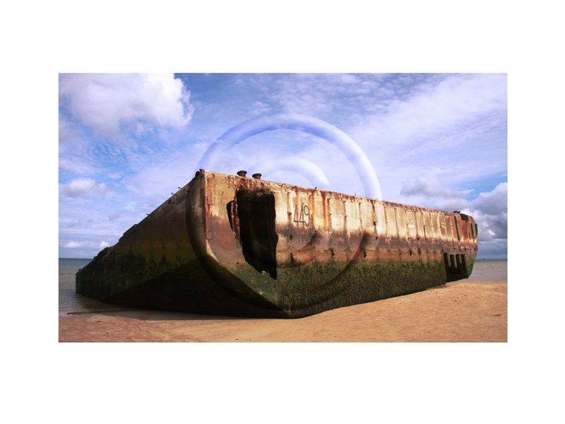 FRA WWII Mulbury Harbour, Arromanches