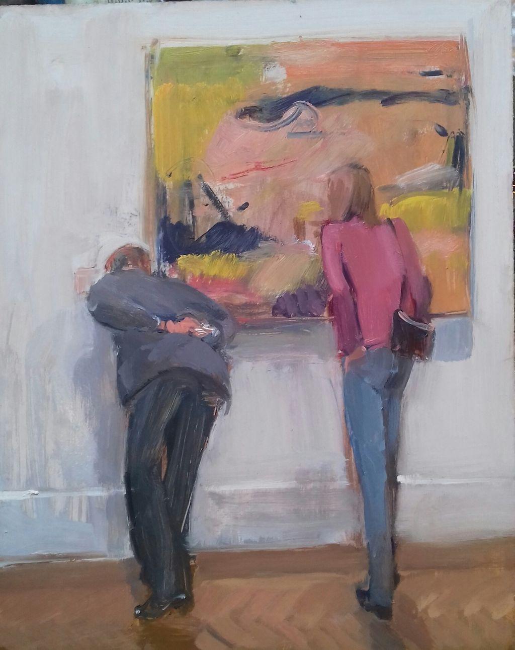 The Picture Lovers, Richard Diebenkorn