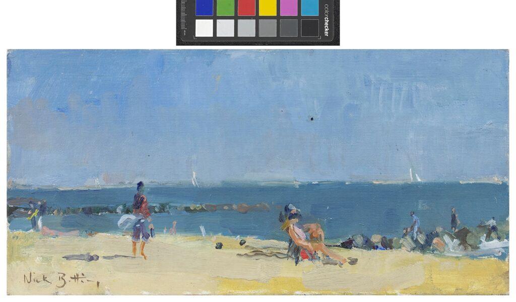 Sun Bathers, Coney Island (SOLD)