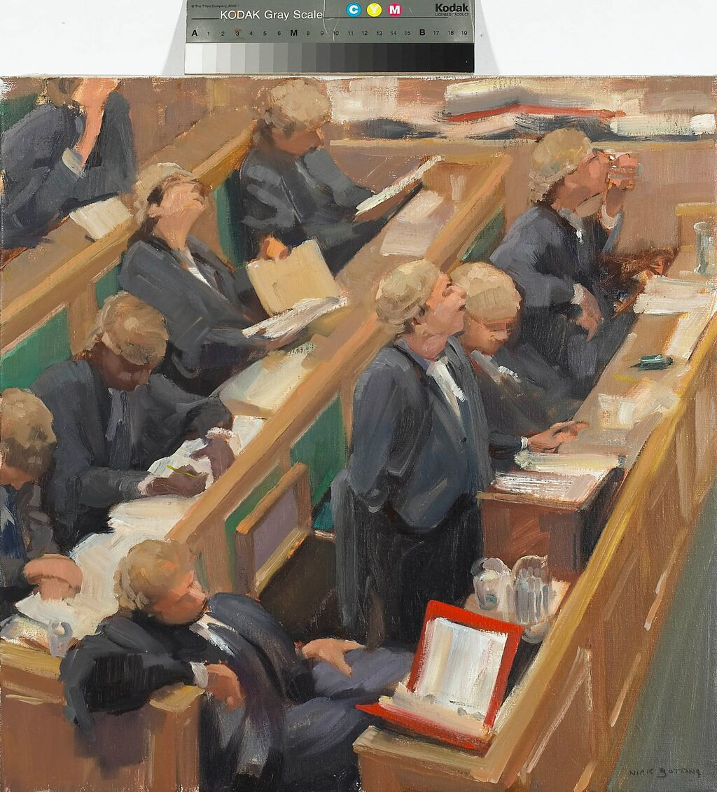 The Barristers (SOLD)