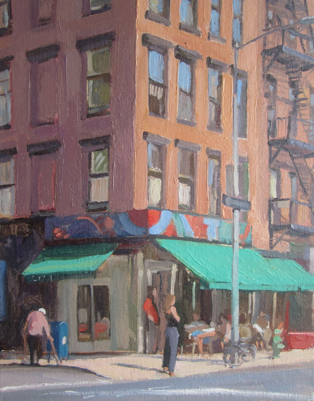 Tomkins Square, New York, Sunday morning