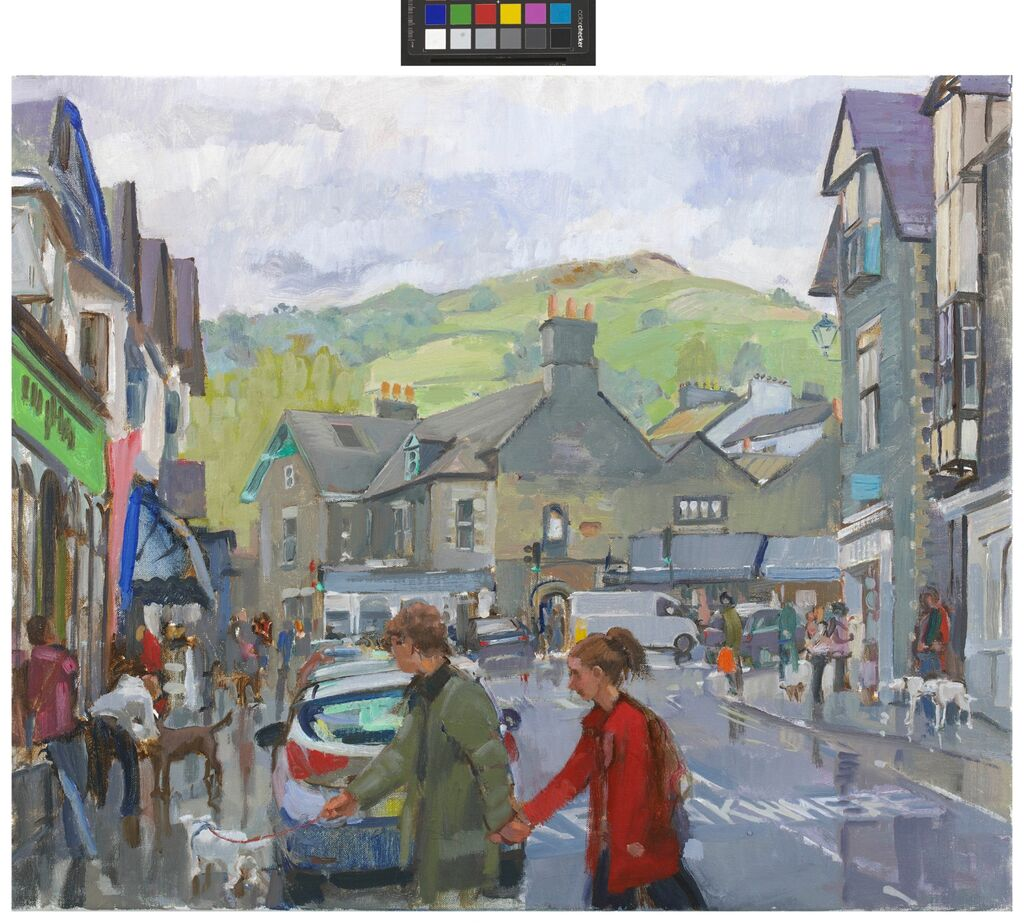 AMBLESIDE, WET AFTERNOON.