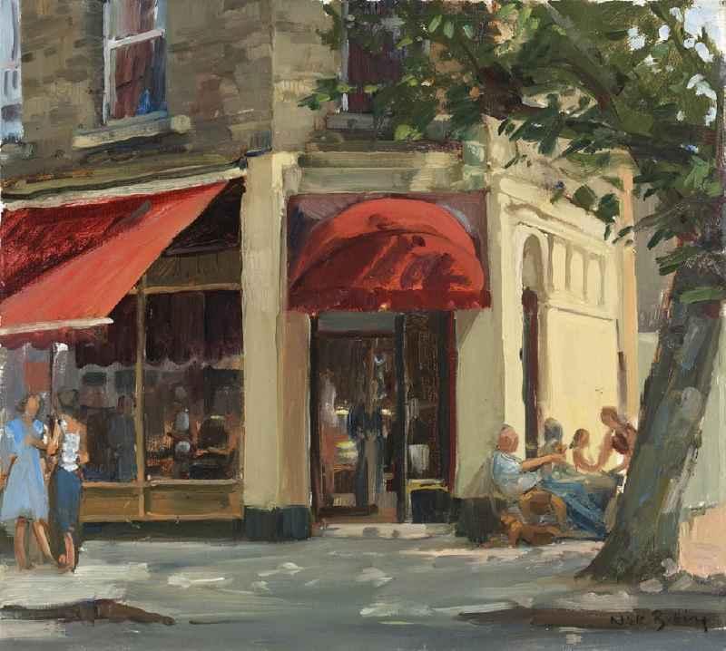 Primrose Hill, Café Scene (SOLD)