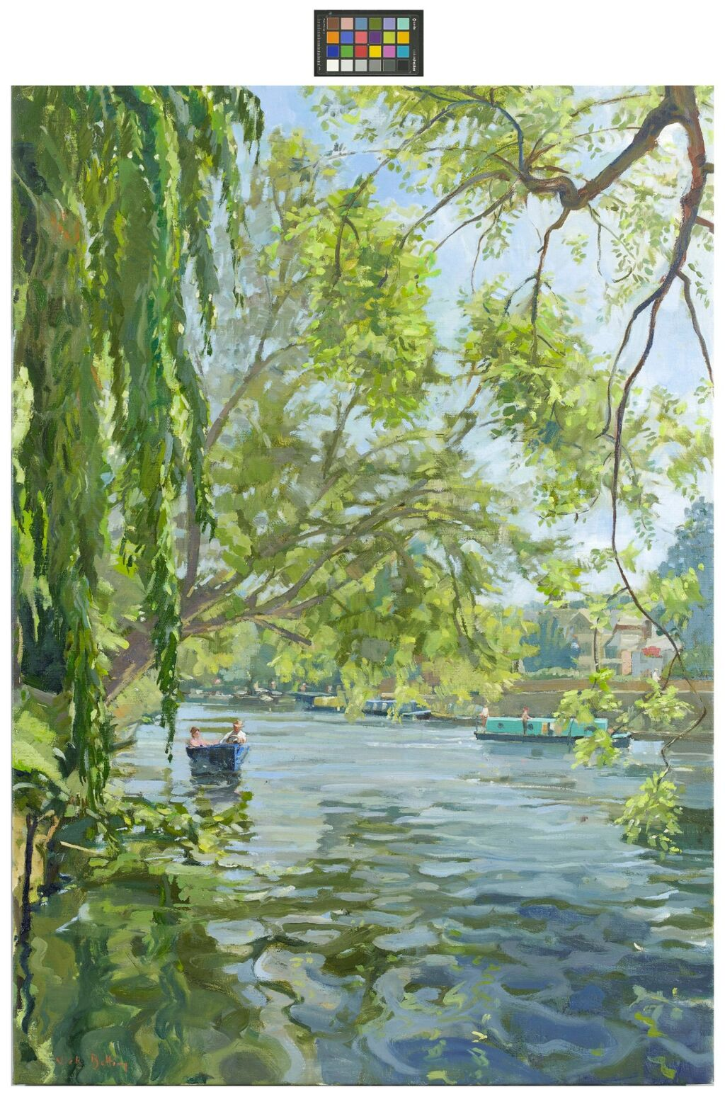 The Thames at Maidenhead. (SOLD)