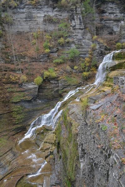 Robert H Treman National Park, Lucifer Falls, Nr Ithica