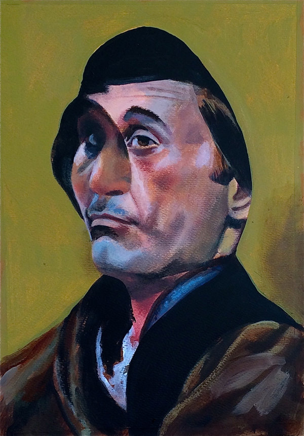 Alfred Prunesquallor 26x38cm (2018)