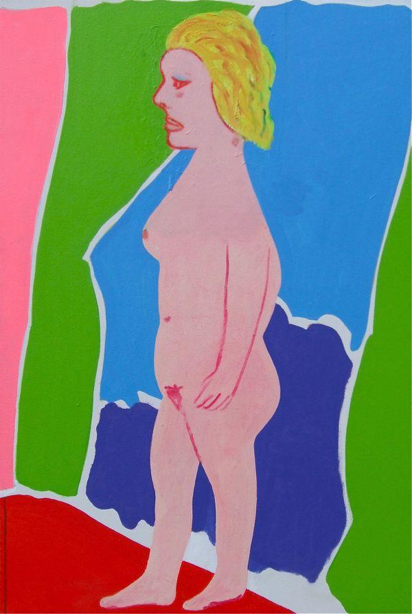 Woman at a Mirror 60x71cm (2013)