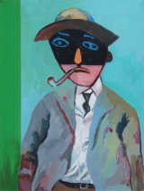 Man with Pipe  46x61cm  (2014)