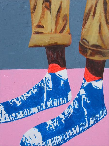 A Mile in Your Shoes 46x61cm (2014) SOLD