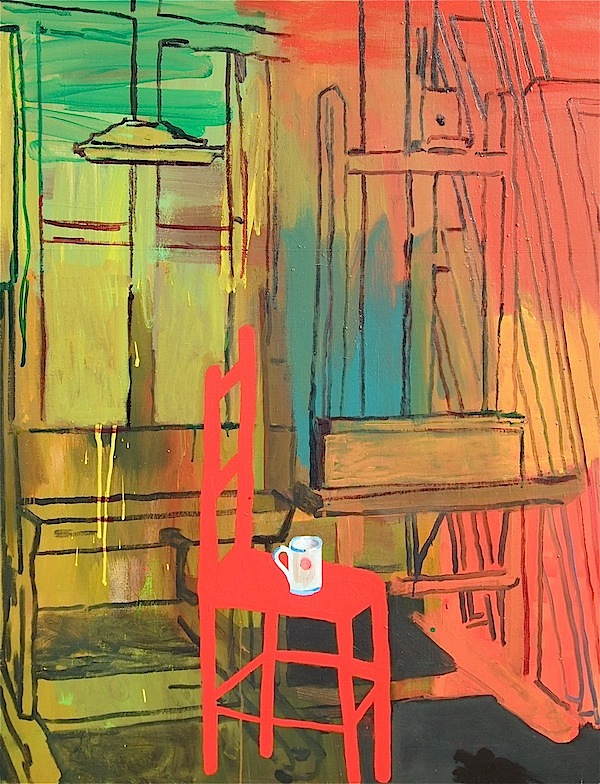 Picasso's Chair 95x125cm (2014)
